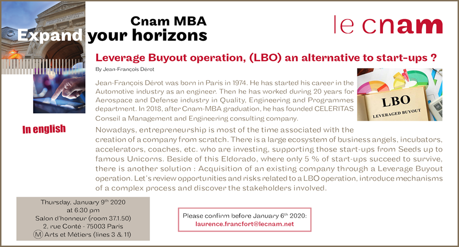 MBA Expand your Horizons