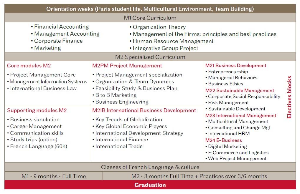 MIM program structure